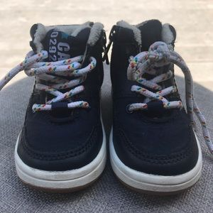 H&M-toddler sneakers navy-size 2.5 to 3.5